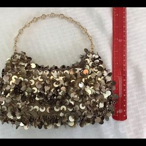 👜 Sequin and bead fun and sassy evening bag purse